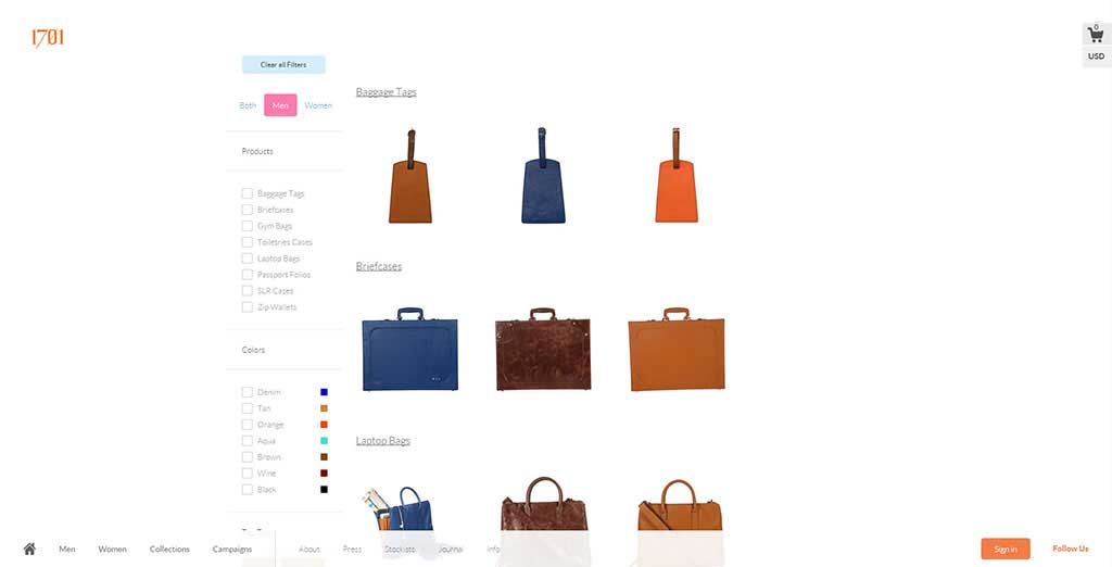 Bespoke E-commerce platform