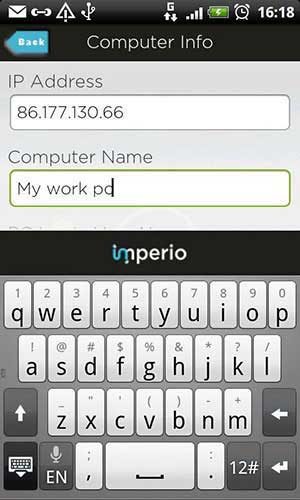 Imperio - native Android RDP Application