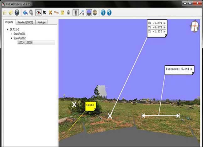 Online point cloud viewer