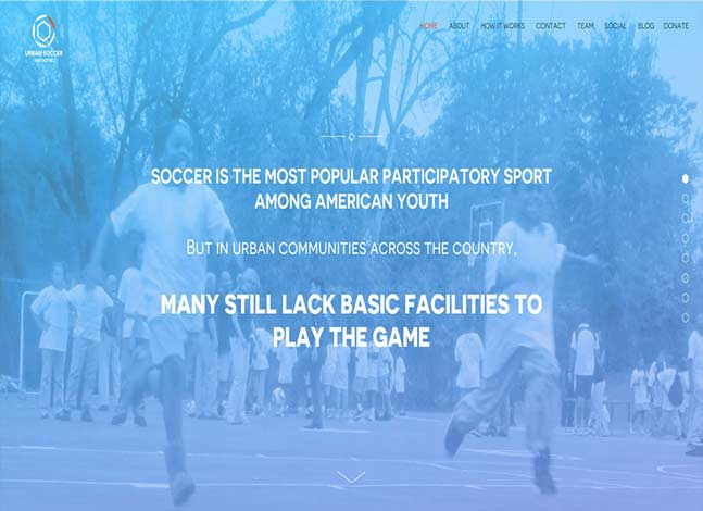 Urban Soccer Initiative Website