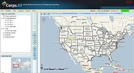 Web Based ESRI GIS Application